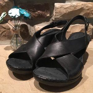 Born Niland Sling Back Wedge sandal